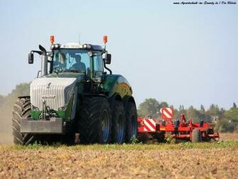 Fendt Trisix Tractor Wallpaper and Background Image 1600x1200