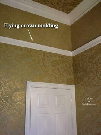 Crown Molding on Vaulted or Cathedral Ceilings   The Joy of Moldings