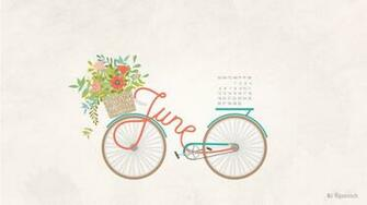 June 2016 calendar wallpaper desktop background