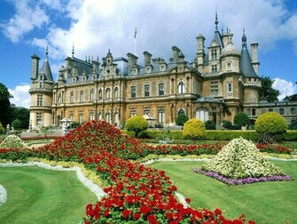 Waddesdon Manor England Wallpapers HD Wallpapers