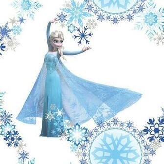 Home Wallpaper Disney Disney Frozen Snow Queen Elsa Flakes
