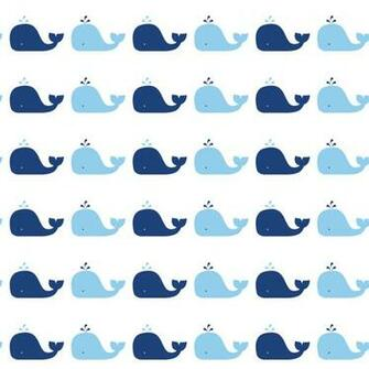 Blue Whale Removable Wallpaper by Tempaper   RosenberryRoomscom
