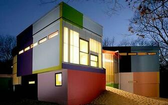 Colorful Modern House Pictures