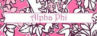 Alpha Phi Facebook Cover Photos