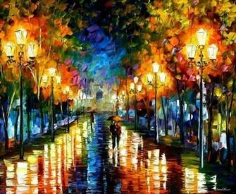 leonid afrmov   noche en la ciudad wallpaper   ForWallpapercom
