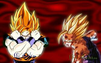 SS Goku And Gohan Wallpaper by kilroy567 on deviantART