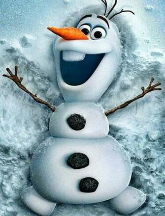 Olaf from Frozen Wallpaper for Phones and Tablets