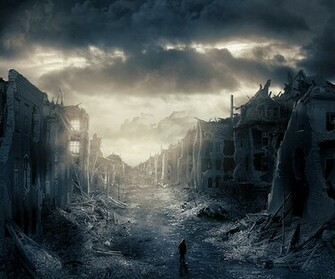 Destroyed City Wallpaper