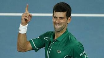 Australian Open 2020 Novak Djokovic powers past Roger Federer