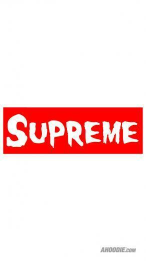 Supreme Logo Wallpaper The misfits x supreme