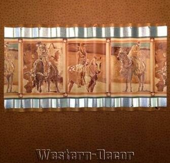Western Horse Cowgirl Cowboy Rodeo Wallpaper Border Picture eBay
