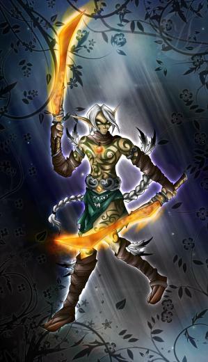 HoMM5   Blade Dancer by Anzhelee
