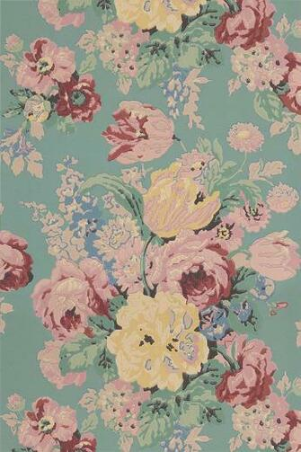 Buy Anna French wallpaper online   Wild Flora Wallpaper