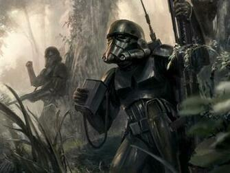 star wars stormtroopers fantasy art artwork 1600x1200 wallpaper