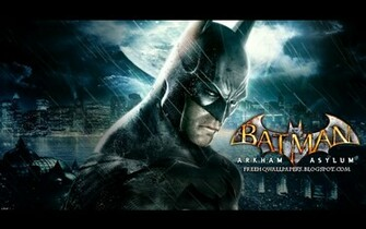 Batman Arkham Asylum Wallpaper