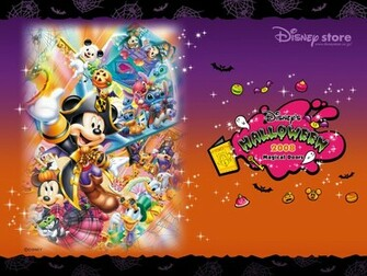 Disney Halloween 2008 Wallpaper   Disney Wallpaper 2428566