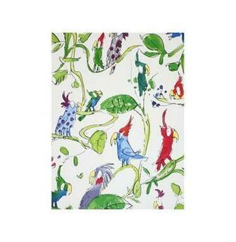 Nook Cranny Spring theme bird wallpaper