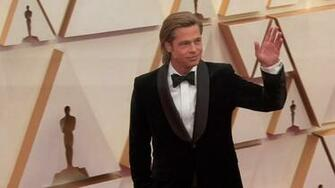 Oscars 2020 Brad Pitt wins his first acting Oscar abc7chicagocom