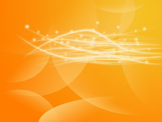 Abstract Orange Wallpaper by KedziGFX