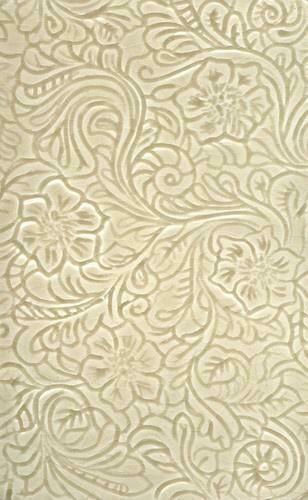 Tooled leather tile for bathroom or kitchen backsplash Bathroom and