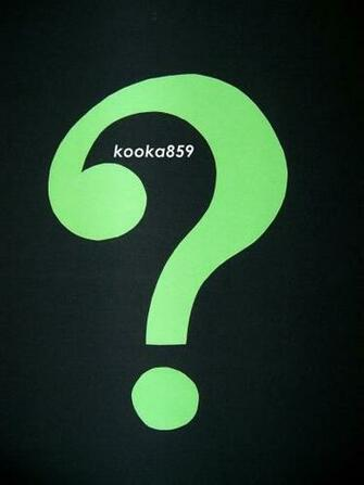 Riddler Logo Question Mark Riddler costume question mark