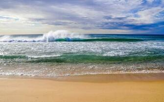 Beach Waves Animated Gif Earth   wave wallpapers and
