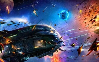 download space battle wallpaper which is under the space wallpapers