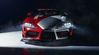 Toyota GR Supra GT4 Concept 2019 4K 8K Wallpapers HD Wallpapers