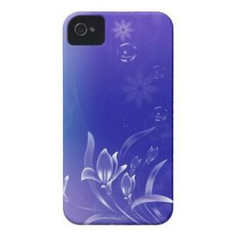 flower phone case bubble abstract art wallpaper co Zazzle