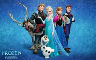 Disneys new animation film Frozen official wallpaper pack Movie