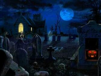 Download 3D Halloween Scary Wallpaper Wallpaper and Backgrounds
