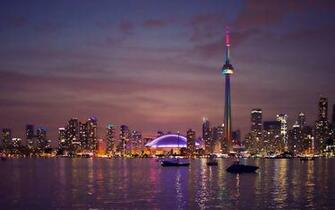 Night lights of toronto canada   101557   High Quality and