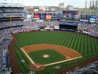 best top desktop baseball wallpapersnew yankee stadium wallpaperjpg