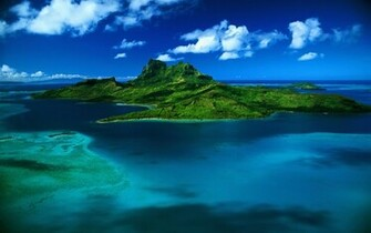 Tropical island 1920 x 1200 Nature Photography MIRIADNACOM