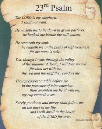 psalm 23 is a part of psalms 23 kjv pictures gallery to see this psalm