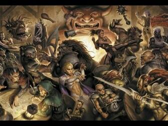 Tavern Brawl   Dungeons Dragons Daggerdale