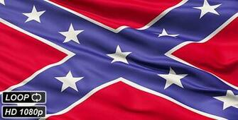 Confederate Battle Flag Close Up   Motion Graphics VideoHive
