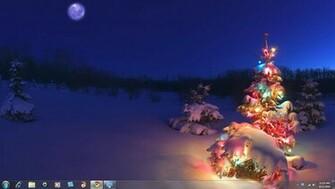 Windows 7 Christmas Theme Holiday Lightsjpg