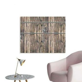 Amazoncom Wooden Wallpaper Sticker Rustic Wooden Long Farmhouse