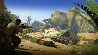 Sniper Elite III Afrika 2014 promotional art   MobyGames