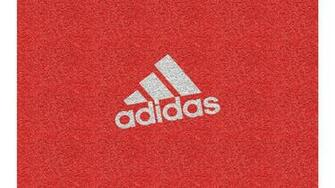 wallpaper adidas logo texture brand red pattern