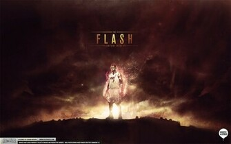 Dwyane Wade The Flash Wallpaper by IshaanMishra
