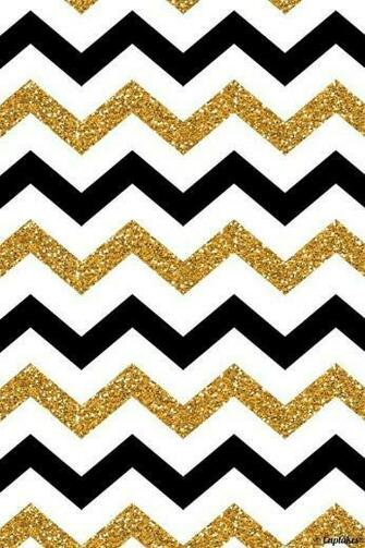 Black and white and gold patterns My Cheveron patterns Chevron