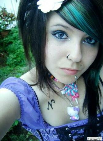 InnocentCute Emo girl