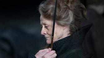 Minerva McGonagall deserves her own film