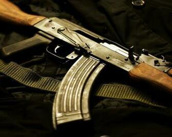 Previous Creative Wallpaper   Kalashnikov AK 47 wallpaper
