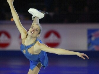 Wallpaper Carolina Kostner   Ice Skating Wallpaper 10280873