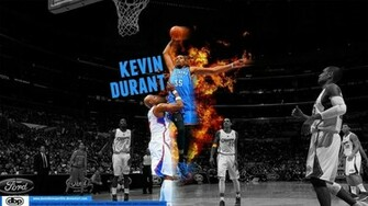 Kevin Durant Dunking HD Wallpaper Sports Wallpapers
