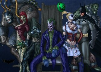 ivy batman arkham asylum wallpaper 1600x1139 35166 WallpaperUP