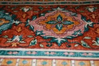 Woven Tapestry Geometric Design Wallpaper Border W1144 eBay